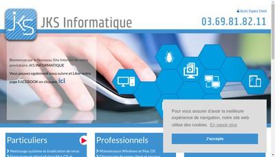 Site internet de Jks Informatique