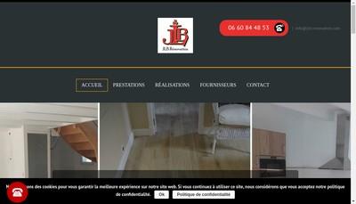 Site internet de Jlb Renovation
