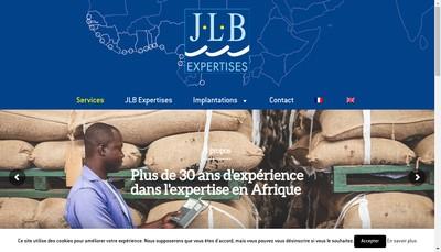 Site internet de Jlb Expertises