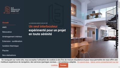 Site internet de Illico Travaux