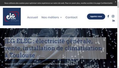 Site internet de Jlg Elec