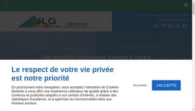 Site internet de JLG Services