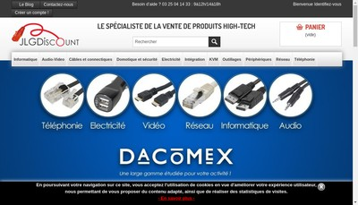 Site internet de Jlg - Discount
