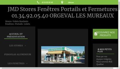Site internet de Jmd Stores