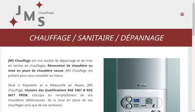 Site internet de Jms Chauffage