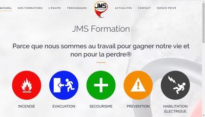 Site internet de Jms Formation
