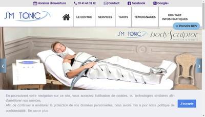 Site internet de J'M Tonic