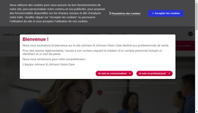 Site internet de Johnson & Johnson Medical SAS