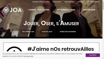 Site internet de Casino de St Pair