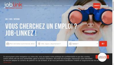 Site internet de Job Link Development