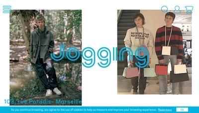 Site internet de Jogging