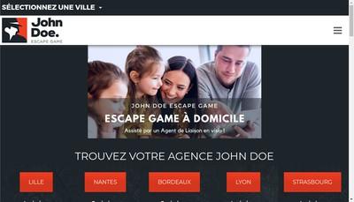 Site internet de John Doe