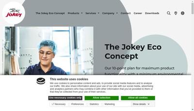 Site internet de Jokey France