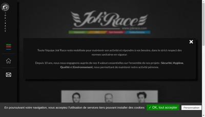 Site internet de Jok'Race