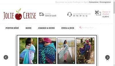 Site internet de SASU Jolie Cerise