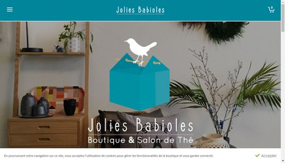 Site internet de Jolies Babioles