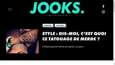 Site internet de Jooks