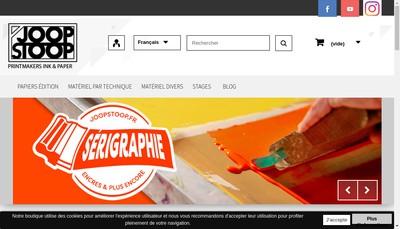 Site internet de Joop Stoop France