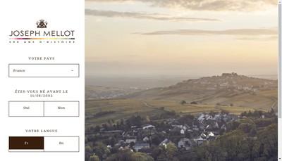 Site internet de Joseph Mellot SAS