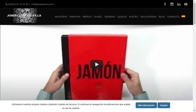 Site internet de Josep Llorens I Fills France