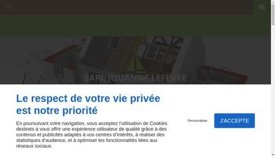 Site internet de SARL Jouanne Lefevre