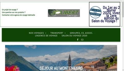 Site internet de Joubert Evasion