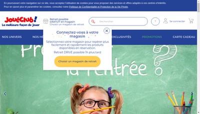 Site internet de Jcw