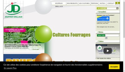 Site internet de Jouffray Drillaud