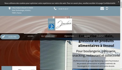 Site internet de Jourdain
