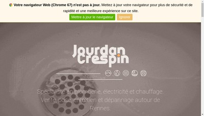 Site internet de Jourdan Crespin