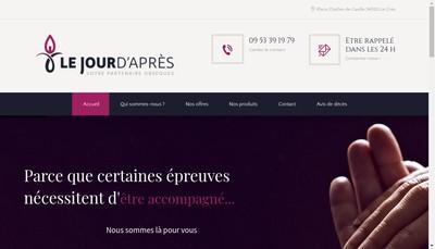 Site internet de Le Jour d'Apres