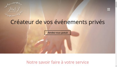 Site internet de Jour J Organisation