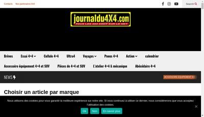Site internet de Journal du 4X4