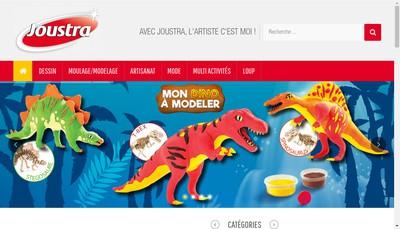 Site internet de Joustra Toys