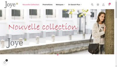 Site internet de Joye