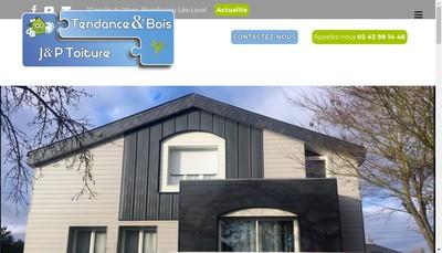 Site internet de Tendance & Bois