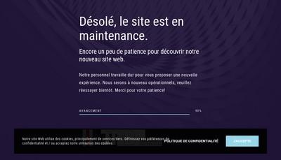 Site internet de JPB Amenagements Decorations