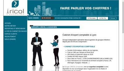 Site internet de JRA