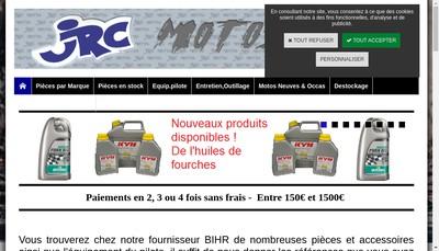 Site internet de JRC Motos SARL