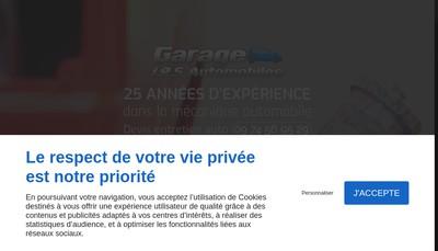 Site internet de Garage JRS Automobiles