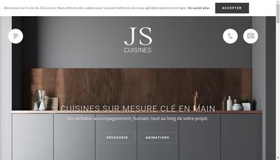 Site internet de Js Cuisines