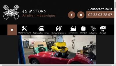 Site internet de Js Motors