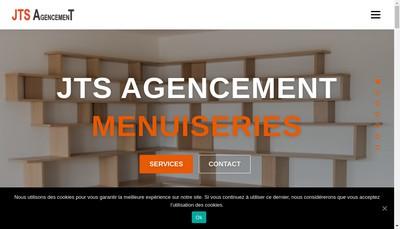 Site internet de Jts Agencement
