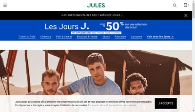 Site internet de Jules