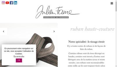 Site internet de Julien Faure SAS