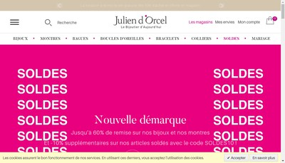 Site internet de Julien d'Orcel