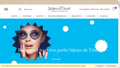 Site internet de Julien d'Orcel