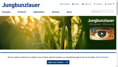 Site internet de Jungbunzlauer