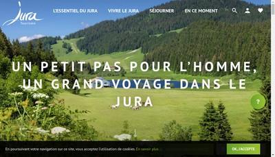 Site internet de Jura-Terroir