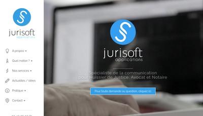 Site internet de Jurisoft Applications